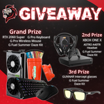 Win 1 of 5 Prizes (RTX 2060 Super + Peripherals / Xbox One X + Peripherals / GUNNAR Intercept Glasses) from JaredFPS