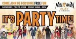 [VIC] Free Family Fun Day Party @ Halloween Alley Knox / The Party People (Westfield Shopping Ctr, Wantirna South)