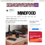 Win 1 of 3 Belkin BOOST↑UP™ Power Banks 2K for Apple Watch Worth $99.95 from MiNDFOOD