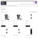 20% off Teawares (Mug, Infusers, Infuser Bottles) @ Tea Tasters