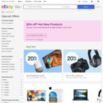 20% off 218 Selected Sellers (Max Discount $300) @ eBay AU