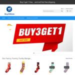 Buy 3 Get 1 Free Unisex Socks $14.95/Pair + Free Shipping @ Buy It Mate
