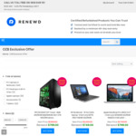 $300 off Selected Refurbished Laptops/ MacBooks/ Desktop (Min Purchase Price $699) @ Renewd