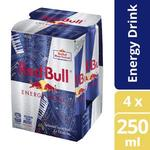 ½ Price Red Bull Energy Drink 4x250mL $5.10 @ Coles