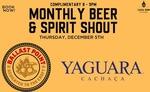 [VIC] Free Beer & Cachaca, 8-9pm 5/12 @ Casa NOM Bar Y Restaurante (Prahran) (Booking Required)