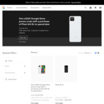 [Google Store] Black Friday Sale - Buy 1 Get 1 Free Google Nest Hub $199, $220 Google Store Credit with purchase of Pixel 4/4XL