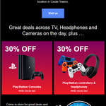 [NSW] 30% off on PlayStation, Dualshock 4 Controllers & Headphones + More @ Castle Hill Sony Showroom