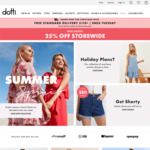 25% off Everything (Including Sale Items) + Delivery @ Dotti