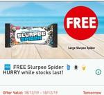Free - Large Slurpee Spider @ 7-Eleven via Fuel App