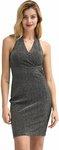 $6.99 (AU $10.10) Halter V Neck Pencil Dress, $6.74 (AU $9.74) V-Neck Cami Tops & Mini Tops @ Kate Kasin