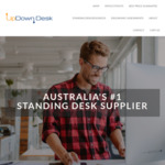 Electric Standing Desks - up to $200 off PRO Series Frames ($499), 50% off Anti-Fatigue Standing Mats $45 + Ship @ Updown Desk
