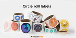50 Circle Roll Labels - $26.09 (Was $85) @ Sticker Mule