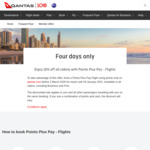 QANTAS: 10% off All Cabins with Points Plus Pay - Flights @ Qantas.com
