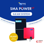 [VIC] 6.6kW Solar System w/ SMA & Trina Fully Installed from $3,911 ($2,023 Upfront) @ Pristine Solar (SMA PowerUP Partner)