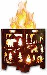 Bear Wood Burning Pit, Fire Pit, Burn Cage, Incinerator Barrel $44.99 Delivered @ GreatCircleAustralia Amazon AU