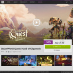 [PC, Mac] 50% off Steamworld Quest: Hand of Gilgamech (DRM-Free) $17.99 @ GOG