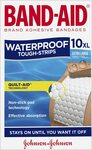 Band-Aid Tough Strips Waterproof Extra Large 10 Count (Max 5) - $1.99 + Delivery ($0 with Prime/ $39 Spend) @ Amazon AU