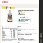 Cottee's Ice Magic Varieties 220g $2 @ Coles