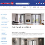 50% off Made to Measure Curtains, Sheers and Tracks @ Spotlight (VIP Membership Required)