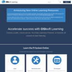 Free PI System Online Courses (was USD $259 per course) @ OSIsoft