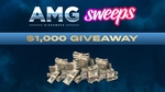 Win $1000 from Sweeps and AMG