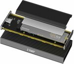 M.2 NVMe SSD Enclosure with Heat Sink 10Gbps USB-C $39.99 Delivered @ TDBT Direct Amazon AU