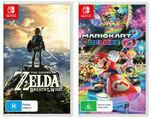 [eBay Plus, Switch] Zelda: Breath of The Wild & Mario Kart 8 Deluxe $124.91 Delivered @ The Gamesmen eBay