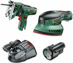 Bosch Cordless Bundle: Sander and Jigsaw $113 Delivered (was $199) @ Amazon AU