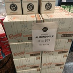 [VIC] Bonsoy Almond Milk 12x 1L $24 @ Oasis Fairfield