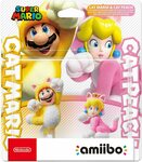 [Pre Order] Cat Mario & Cat Peach Double Pack Amiibo $33.71 + Delivery ($0 with Prime/ $39 Spend) @ Amazon AU