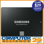 "[eBay Plus] Samsung 1TB Samsung 2.5"" 860 EVO SATA 6GB/s SSD $166.50 Delivered ($137.50 after CB) @ Computer Alliance eBay"
