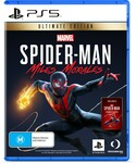 [PS5] Spider-Man: Miles Morales Ultimate Edition $89 + Delivery (Free C&C) @ Big W