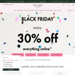 30% off Everything & 60% off Outlet Items @ Kate Spade
