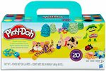 Play-Doh Super Colours 20 Tub Pack $15 + Delivery ($0 with Prime / $39 Spend) @ Amazon AU