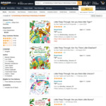 Little Peep-Through: Are you there Little ...? Board Books $4 + Delivery ($0 with Prime/ $39 Spend) @ Amazon AU