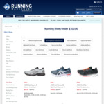 ASICS Running Shoes Kayano, Nimbus, GT 2000 $99.95 + $5 Delivery ($0 with $150+ Spend) @ Running Warehouse