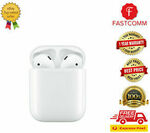 [Afterpay] Apple AirPods (2nd Gen) with Charging Case MV7N2ZM/A $175.20 Delivered @ Fastcomm eBay