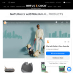 Free Shipping Site-wide @ Rufus & Coco