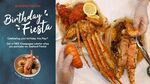 [NSW] Free Lobster with Seafood Fiesta Purchase ($85 for 2 or $139 for 4) for Customers Born in May @ Seafood Master Bankstown