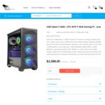 RTX 3070 Ti Gaming PCs: R5-3600: $2388 / i7-10700KF: $2788 + Shipping (Late June Onwards) @ TechFast