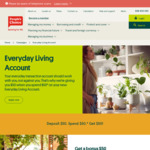 Everyday Living Account $50 Back with $50 Deposit & Spend (New Members Only) @ People's Choice