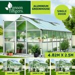 Greenfingers Aluminium Polycarbonate Greenhouse 3m x 1.9m $254.95 Delivered @ Ozplaza.living eBay