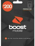 Boost Mobile 12 Month Pre-Paid Starter SIM: $200 100GB for $156, $300 240GB for $235 @ Simonline