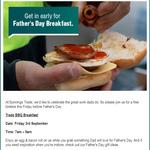 [QLD, TAS] Free Bacon & Egg Roll 7-9am Friday 3rd September @ Bunnings