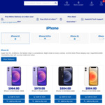 iPhone 12 64GB $979, 128GB $1059.00 + Delivery ($0 to Metro/ C&C/ in-Store) @ Officeworks