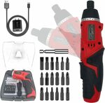 STORMHERO Electric Power Screwdriver Cordless Rechargeable Set $33.99 Delivered @ JS Choice Amazon AU