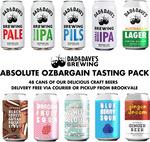 Dad & Dave's OzBargain Ultimate Beer Tasting Pack (48 Regular Cans) $149.95 (Valued $258) Delivered @ Dad N Dave's Brewing