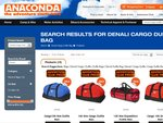 Anaconda 70% off for Denali Duffle Bags (60L for 13.49, 100L for 14.99, 140L for 16.49)