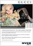 Free Fragrance Sample of The Flora Garden Collection from Gucci at Myer