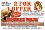Pancake Parlour 2 for 1 Short Stack Pancakes - Online Coupon (Melbourne)